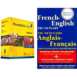 Rosetta Stone French Learner's Dictionary Bundle