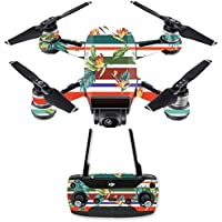 Skin for DJI Spark Mini Drone Combo - Tropics| MightySkins Protective, Durable, and Unique Vinyl Decal wrap cover | Easy To Apply, Remove, and Change Styles | Made in the USA
