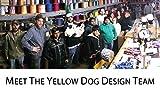 Yellow Dog Design Lemon Polka Dot Dog Collar Fits