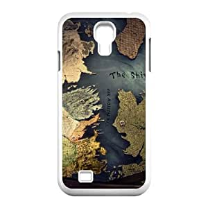 samsung s4 9500 Case White, Westeros map samsung s4 9500 Cell phone case -TTPP1784363