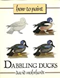 How to Paint Dabbling Ducks, David Mohrhardt, 0811730107