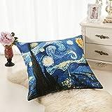 "ALASKA BEAR - 100% Mulberry Silk Euro Pillow Sham Cover, Hypoallergenic, 19 Momme, 600 Thread Count, European Pillowcase(26"" x 26"") with hidden zipper, Custom Painting Pillow Case for Room Décor"
