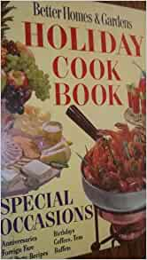 Better homes and gardens holiday cookbook 1968 special Better homes and gardens christmas special