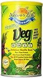 Nature's Life, Healthy Veg Protein, Delicious Vanilla Bean, Powder, 1 Pound For Sale
