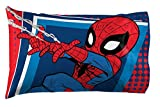 Jay Franco Marvel Super Hero Adventures Go Spidey 1 Pack Pillowcase - Double-Sided Kids Super Soft Bedding - Features Spiderman