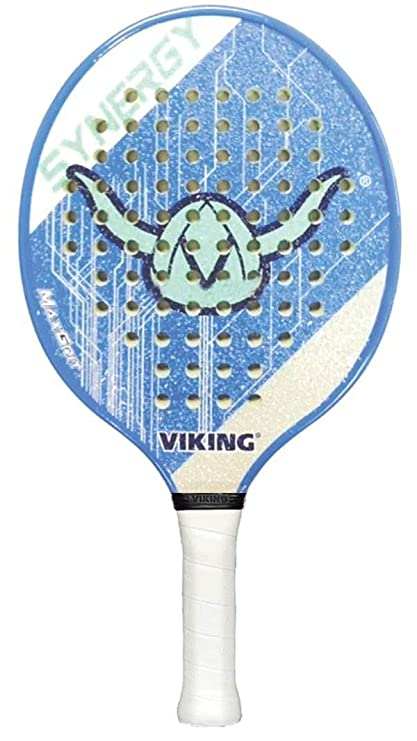 Amazon.com : Viking Synergy Platform Tennis Paddle-Blue ...