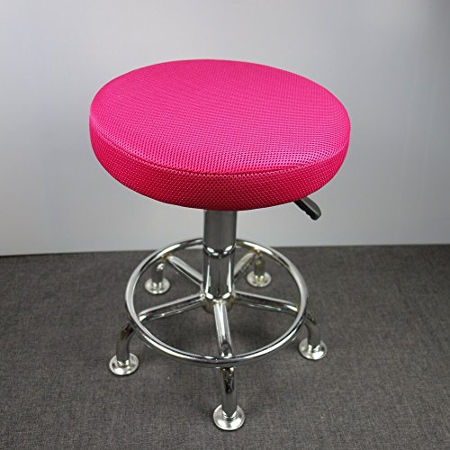 13″ Round Bar Stool Cover, Breathable Fabric to Proctect or Renew Your Stools Chairs For Sale