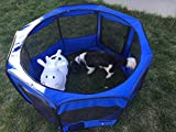 "ToysOpoly 45"" Indoor/Outdoor Pet Playpen Cage. Best Exercise Kennel for Your Dog, Cat, Rabbit, Puppy, Hamster or Guinea Pig. Portable for Easy"