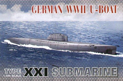 XXI U-Boat Submarine 1-350 AFV Club
