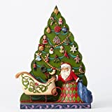 Jim Shore Santa/Tree Advent Calendar, 25Pc