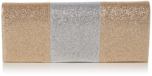 Swankyswans Jem Sparkle Color Block, Pochettes Or (Gold)