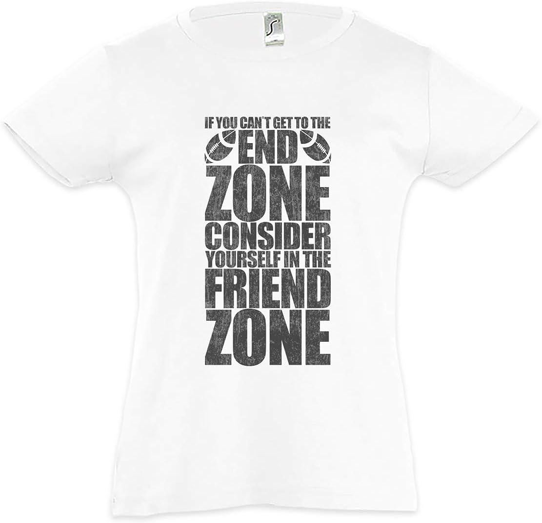Urban Backwoods End Zone Friend Zone Kids Girls Children T-Shirt T-Shirt