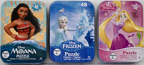 Disney Princess Puzzles Cases Bundle
