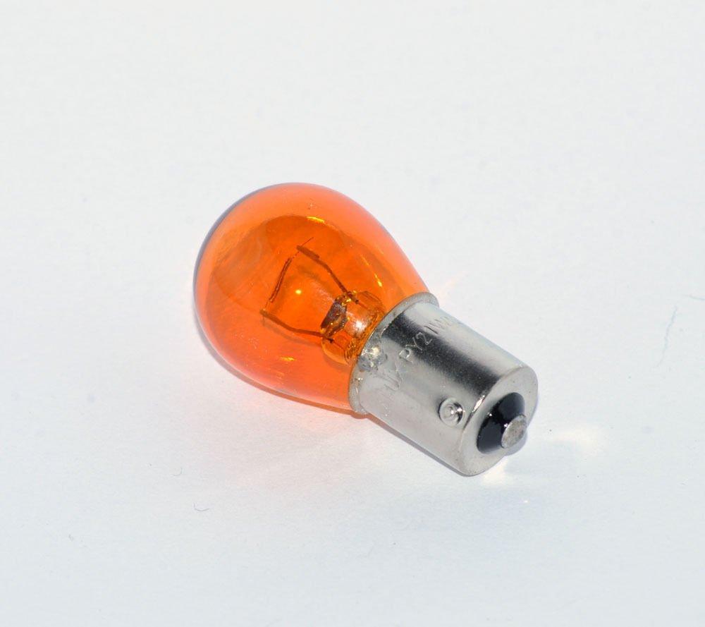 Glassockellampe Gelb versetzte Pins Gl/ühbirne 21W -AMBER 12V LONGLIFE PY21W * PRAKTISCHES SET * Soffitte Blinkerbirne KFZ Beleuchtung Gl/ühlampe 10 St/ück Autolampen BAU15S