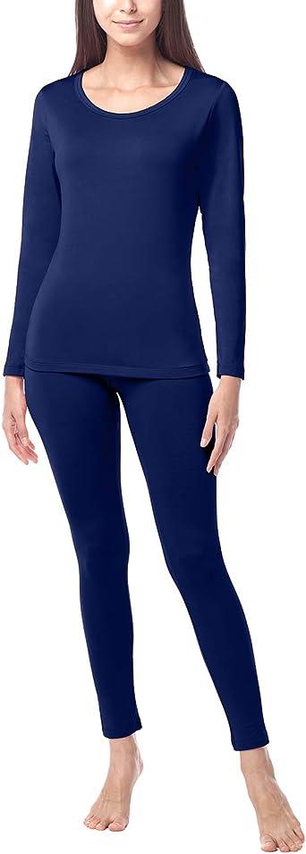 LAPASA Womens 100/% Merino Wool Thermal Underwear Long John Set Lightweight Base Layer Top and Bottom L58