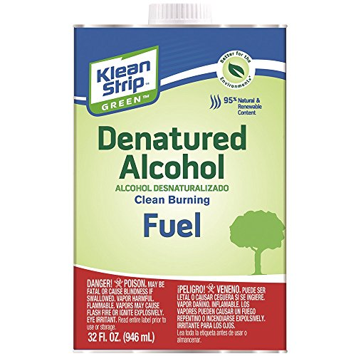 (Klean-Strip Green QKGA75003 Denatured Alcohol, 1-Quart)