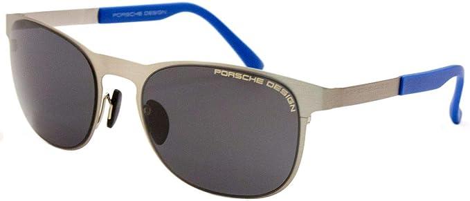 00245ad3b28 Porsche Design P8478 A Light Gold Sunglasses - Size  54--20--140 - Color   Silver  Amazon.co.uk  Clothing