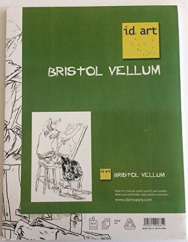i.d. art supply Bristol Vellum Pad (18x24'') by i.d. art