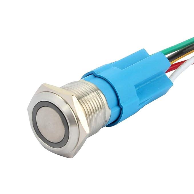 6 opinioni per SENZEAL Interruttore automatico LED blocco 12V 3A Interruttore automatico a