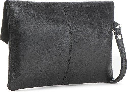 25 14 P l bags Clutch Unterarmtaschen Trend À Main 1 Clutch X Cm Dimensions H Métal Sac Partybags Cuir Noir Clutchbags Cntmp Femme Hn16f6