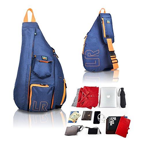 0624b65cd1 Crossbody Sling Bag – Over Shoulder Backpack for Men & Women with Single  Strap