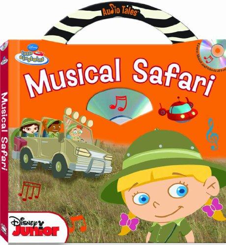 Disney Little Einsteins Musical Safari (Audio Tales book with audio CD)