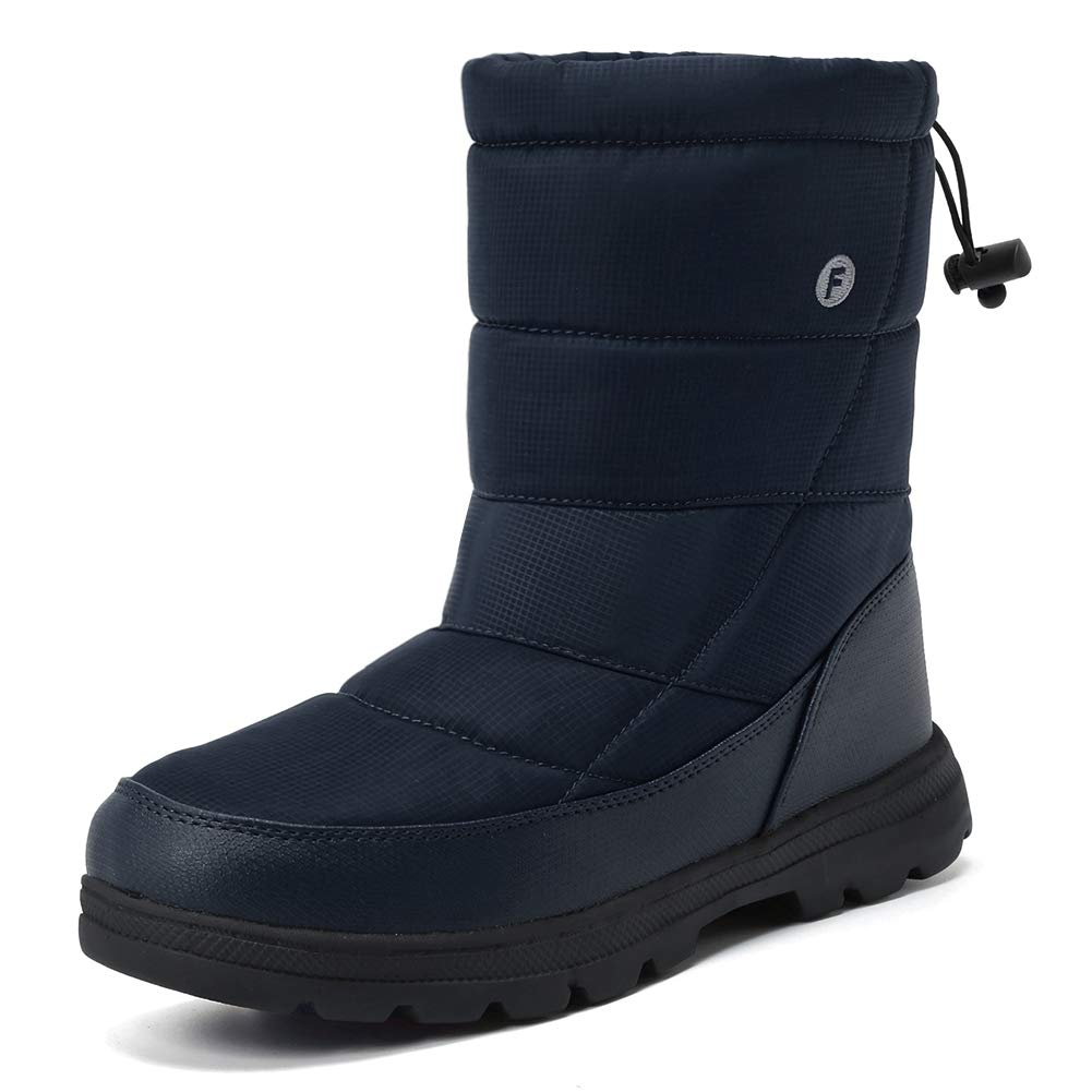 Men Women's Waterproof Snow Boot Drawstring Cold Weather Boot U118WXZ030