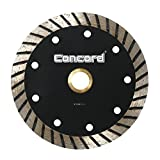 Concord Blades CTW060A10CP Continuous Wide Turbo Teeth Diamond Blade with Cooling Holes, 6""