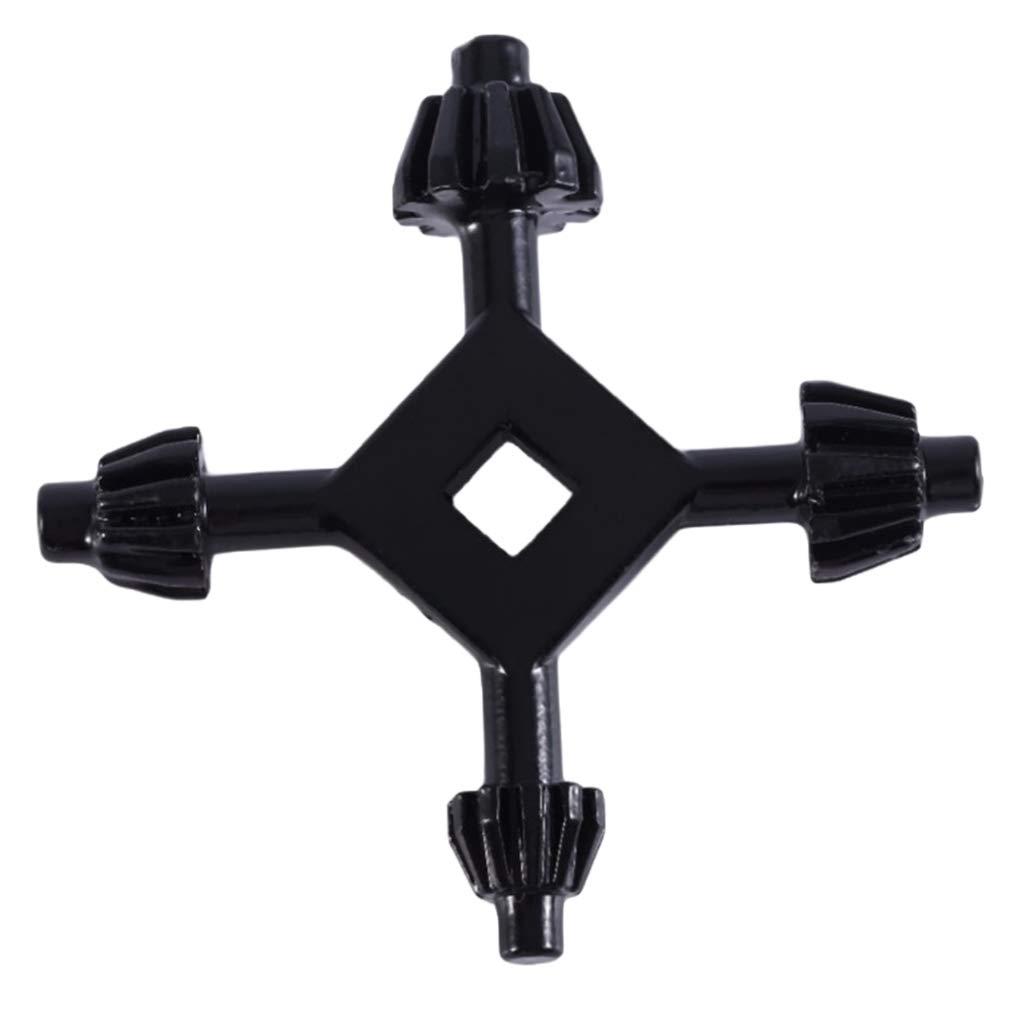 Universal-Bohrfutter-Kreuzschlüssel