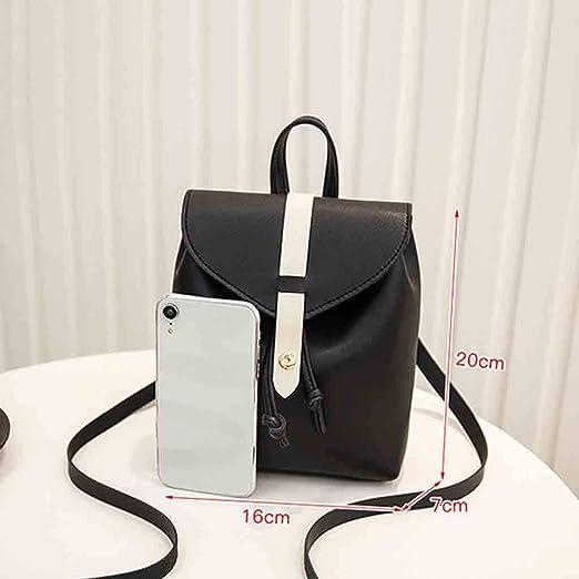 Amazon.com: YEZIJIN Fashion Lady Shoulders Small Backpack Letter Purse Mobile Phone Messenger Bag: Baby