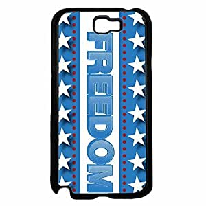 Freedom TPU RUBBER SILICONE Phone Case Back Samsung Galaxy Note2 N7100/N7102