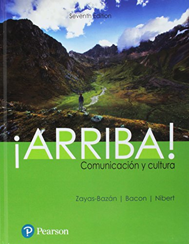 Arriba: comunicacin y cultura Plus MyLab Spanish with Pearson etext    Access Card Package (Multi Semester) (7th Edition)