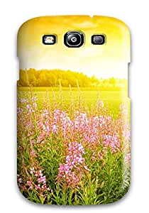 FkMwRQC3927ELYFa Anti-scratch Case Cover MeaganSCleveland Protective Flower Case For Galaxy S3