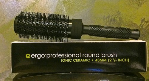 "Price comparison product image Ergo Ionic and Ceramic Brush , "" er43ci"" , 2 1/4 """