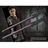 Harry Potter Wand Shaped Pen With Bookmark (Brown)