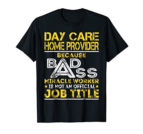 Day Care Home Provider Miracle Worker Job Title (Daycare Worker Costume)