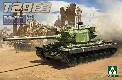 Takom 1:35 U.S Heavy Tank T29E3 - Plastic Model Kit #2064