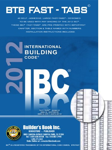 International Building Code (IBC)BTB Fast Tabs