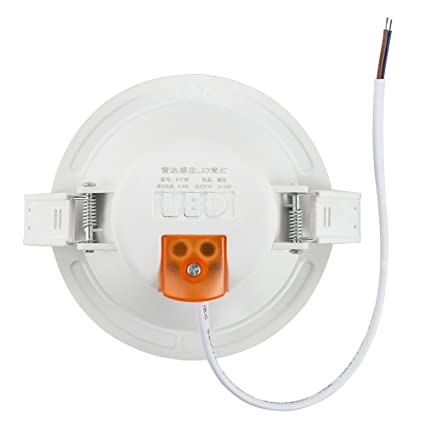 BLOOMWIN 4W Sensor de radar Luz de techo blanco calido foco empotrable LED con detector de movimiento 6-15M rango 140° Angulo para garaje, terraza, pasillo, ...