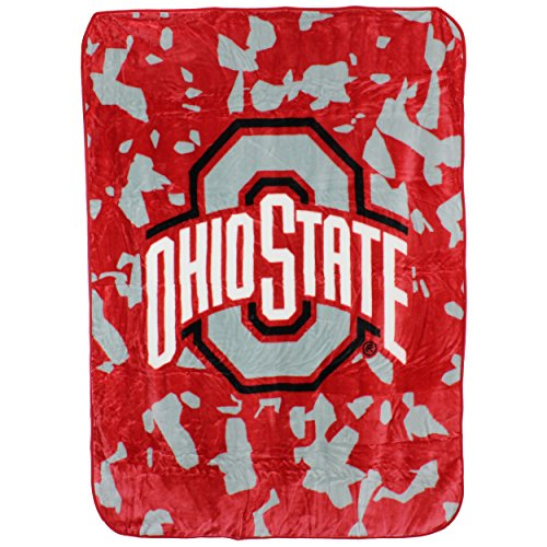 Ohio State Blanket - College Covers Ohio State Buckeyes Throw Blanket/Bedspread