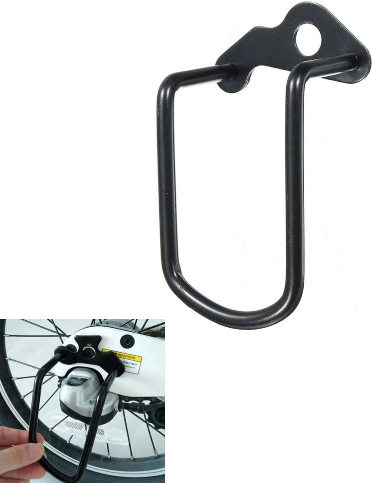 MOMOALA AAlamor Retaguardia Protector De La Barra De Guardia para Xiaomi Qicycle Ef1 Bicicleta Eléctrica