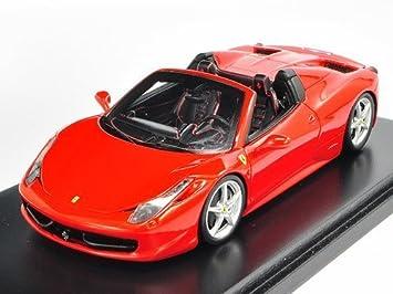 Amazon.com: Ferrari 458 Italia Spider, Red 2012 Road Car, Fujimi TrueScale  Miniatures FJM1243020 Resin 1/43: Fujimi: Toys U0026 Games