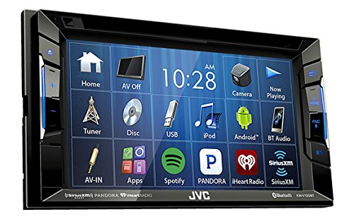 JVC KW-V130BT Double DIN BluetoothA In-Dash DVD/CD/AM/FM Car Stereo w/ 6.2