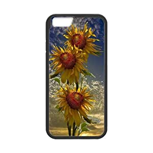High Quality {YUXUAN-LARA CASE}Sunflowers in The Sun For Apple Iphone 6 Plus 5.5 inch screenSTYLE-5