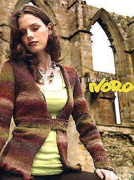 Noro Knitting Patterns Jane Ellison Pure -