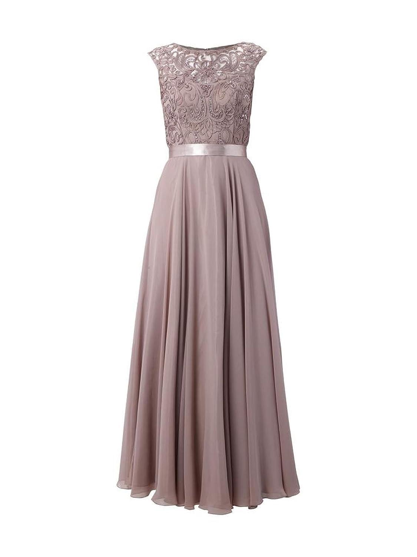 Charm Bridal Chiffon Women Prom Dress Bride's Mother Long Party Dress Sleeveless