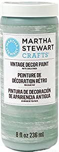 Martha Stewart Crafts Vintage Decor Paint in Assorted Colors (8-Ounce), 33524 Eucalyptus