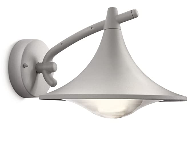 Philips cedar lampada da parete per esterno lanterna down grigio