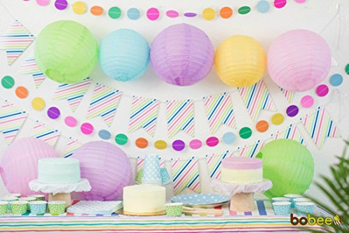 Bobee Pastel Paper Lantern Decorations , Assorted Sizes ...