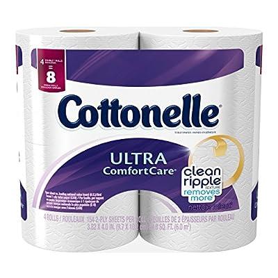 Cottonelle Ultra Comfort Care Toilet Paper - Double Roll - 4 pk